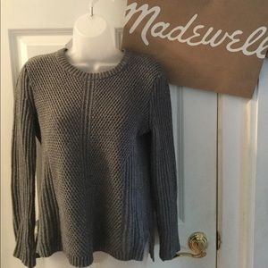 Madewell Grey Knitt Sweater